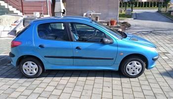 Peugeot 206 1.1 benzin
