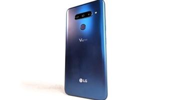 LG V40 128 GB, 6 GB RAM, Moroccan Blue