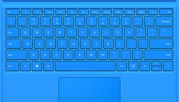 Microsoft Surface Pro blue tipkovnica,orginal,ispravna,saljem i postom !