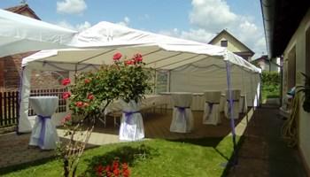 Iznajmljivanje šatora i opreme za svečane prigode