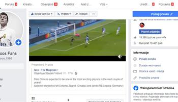 Prodajem Facebook stranicu s 20 tisuća pratitelja