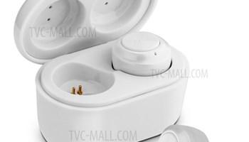 A6 TWS Bluetooth slušalice V5.0 -bijele