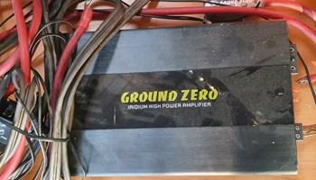 Ground zero pojacalo i zvucnik 1000w 2x2