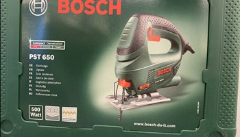 Ubodna pila Bosch PST 650, novo, zapakirano, garancija 2 god