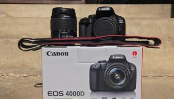 Canon EOS 4000d + 18-55mm objektiv
