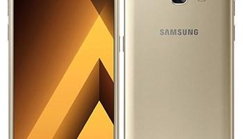 Prodajem korišteni Samsung Galaxy A3 2017 zlatne boje