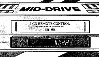 SHARP VHS videorekorder, scart, daljinski, ispravan, malo korišten