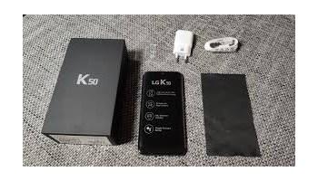 LG K50 nov, prodajem