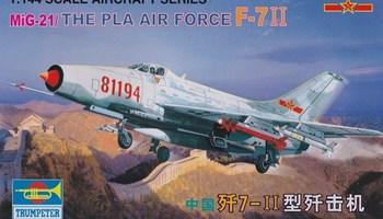 Maketa avion Chines MiG-21 F-7 II 1/144  1:144