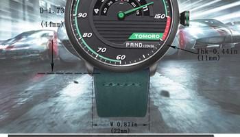 TOMORO Mens Unique Racing Car 3D Design - NOVO - KUTINA lokacija