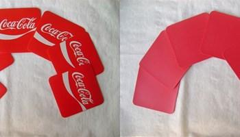 Coca Cola podmetači za čaše - 6 komada