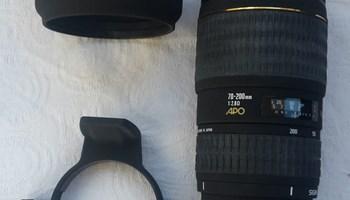 Sigma 70-200mm 1:2.8 APO HSM EX za digitalne aparate