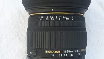 Sigma DC 18-50 1:2.8 EX Macro