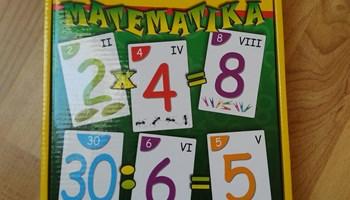 Vesela matematika, igra za učenje, SNIŽENO!!