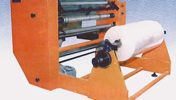 Stroj za uzdužno rezanje papira ,filmova ,netkanog materijala i sličnih materijala