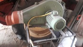Usisavač za piljevinu ( transportni ventilator )