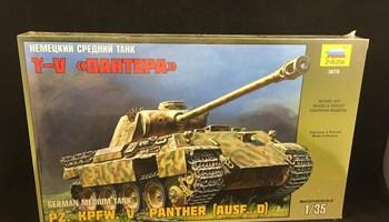 Maketa tenka tenk PZ. KPFW. V PANTHER (AUSF. D) 1/35 Oklopnjak