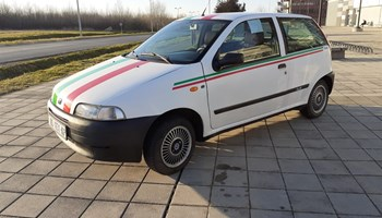 FIAT PUNTO 1.1i   MODEL  CULT ITALIA 99. GODINA, SERVO VOLAN, REG. DO 12/2020