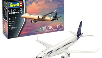 Maketa avion Embraer 190 Lufthansa New Livery 1/144