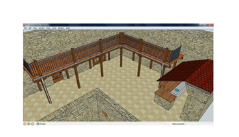 Crtanje/projektiranje cjelokupnih interijera i kuhinja po mjeri u SketchUp-u