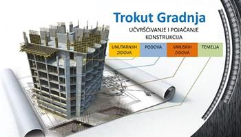 Građevinski radovi - hidroizolacija i povećanja krutosti, stabilnosti i nosivosti