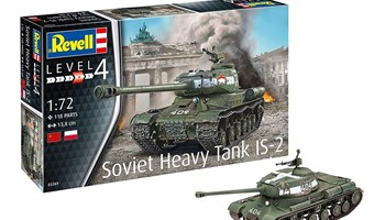 Maketa tenk Soviet Heavy Tank IS-2 1:72