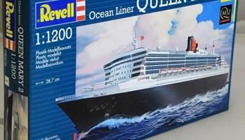 Maketa brod Queen Mary 2