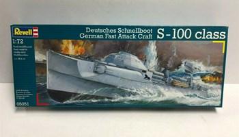 Maketa brod S-100 CLASS SCHNELLBOOT 1/72