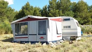 Robinzon kamping mjesta za najam
