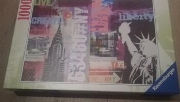 Ravensburger puzzle 1000 komada