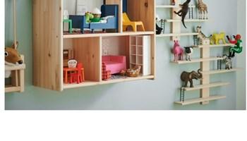 Ikea kucica drvena