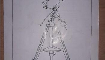Prodajem teleskop (MAK102EQ2)