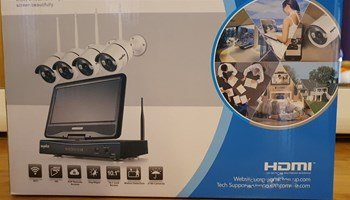 NVR WI-FI video nadzor sa 4 kamere