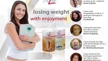 Brzo, zdravo MRŠAVLJENJE - ProShape All-1 - postizanje osobne idealne težine samo sa jednim proizvodom