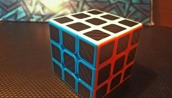 [NOVO] 3x3x3 brza Rubikova kocka sa carbon naljepnicama