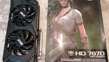 Sapphire AMD HD 7870 2Gb Overclocked edition