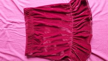 Crvena baršunasta suknja (NOVO**)