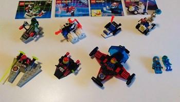 LEGO vintage 7 Space setova iz 90ih zajedno 220 kn!