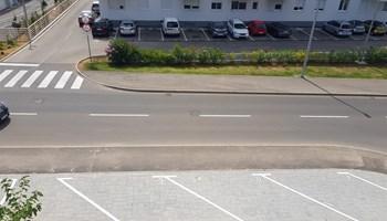 Najam parkinga - ulica Nikole Tesle, Zadar