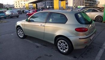 Alfa Romeo 147 1.6 TS 140 tisuća orginal od prvog dana u hrvatskoj provjerljivo