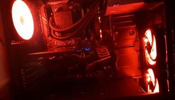GAMING PC RYZEN 5, XFX RX 580 8GB, 32GB DDR4