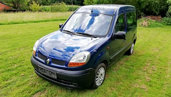 Renault Kangoo 1.9 D, 2005.g., KLIMA!