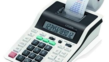 Citizen CX-32n poslovni kalkulator + ostali uredski potrošni materijal