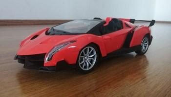 Lamborghini R/C daljinski cabrio - crveni i narančasti