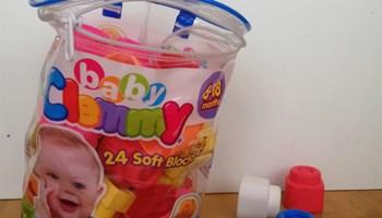 Gumene kocke za bebe Clemmy