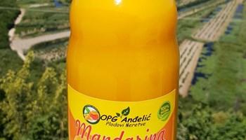 Prirodni sok od mandarine 1L