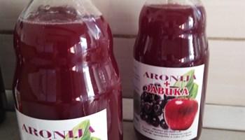 Matični sok od aronije + sok od jabuke 100% PRIRODNO BERBA 2020