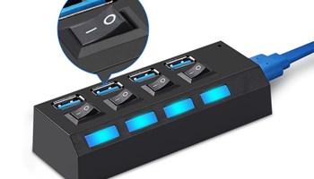 USB HUB 3.0 (4 utora/porta) BESPLATNA POŠTARINA