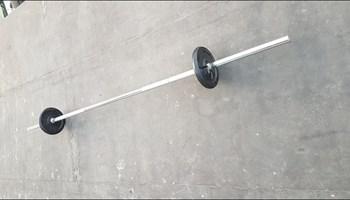 Šipka za utege 220 cm sa osiguračima