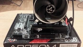 Ryzen 1800x / AB350M / 8gb DDR4